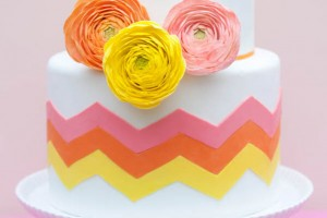 DIY-Chevron-Cake-Decoration