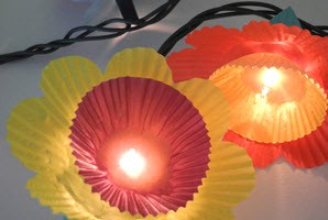 DIY-Muffin-Wraper-Flower-Lights