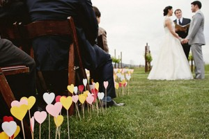 Paper-Heart-Aisle-Markers