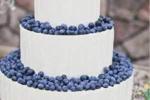DIY-Blueberry-Covered-Cake