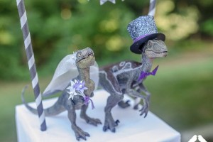 DIY-Dinosaur-Couple-Topper