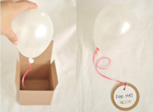 DIY Helium Balloon Invitations I Do DIYscom