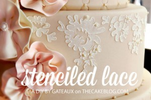 DIY-Stenciled-Lace-Cake