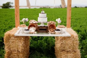 Hay-Bale-Buffet-Table