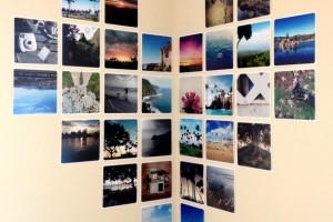 diy-corner-heart-photo-display