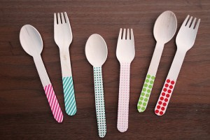 diy-washi-tape-silverware