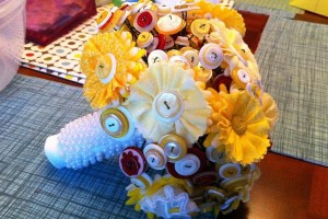 diy-button-flower-bouquet