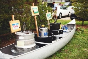 diy-canoe-keg-bar
