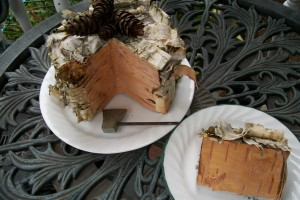 diy-faux-wood-cake