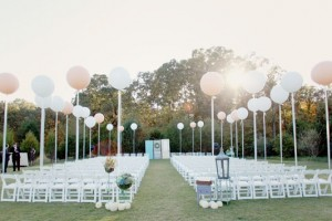 diy-large-balloon-aisle-markers