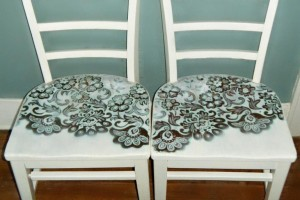 diy-painted-lace-chair