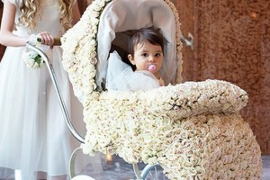 diy-flower-girl-baby-carriage