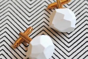 diy-geomettric-cufflinks