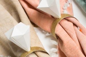 diy-origami-diamond-napkin-rings