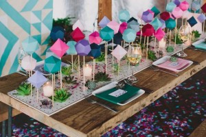 diy-3D-shapes-table-runner