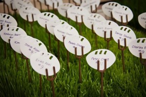 diy-paper-football-escort-cards