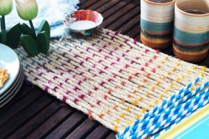 diy-woven-rope-table-runner