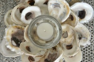 diy-oysters-shell-candle-holder
