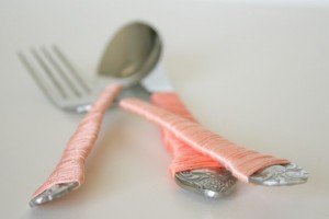 diy-string-wrapped-cutlery